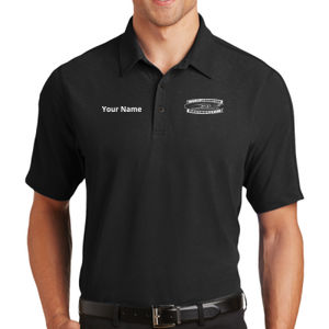 MTI Racing Logo and Custom Name Right Chest - Onyx Polo Thumbnail