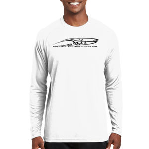 MTI Logo - Dry Zone ® Long Sleeve Raglan T Shirt Thumbnail