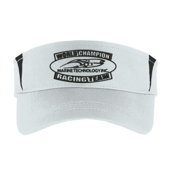 MTI Champion Logo - Dry Zone ® Colorblock Visor Thumbnail