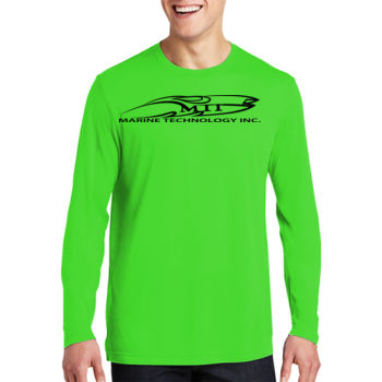 MTI Logo - Long Sleeve PosiCharge ® Competitor ™ Cotton Touch ™ Tee Thumbnail