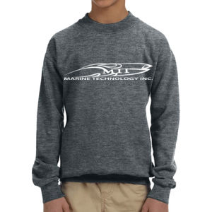 MTI  - Youth Heavy Blend™ 8 oz., 50/50 Fleece Crew Thumbnail