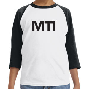 MTI - Youth 5.3 oz. 3/4-Raglan Sleeve T-Shirt Thumbnail