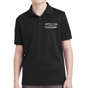 MTI Champion Logo- - Youth PosiCharge ® RacerMesh ® Polo Thumbnail