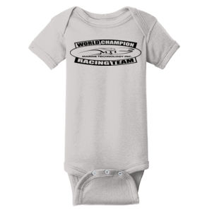 MTI Racing Team - ™ Infant Short Sleeve Baby Rib Bodysuit Thumbnail
